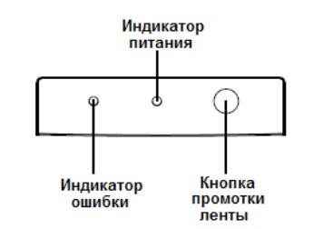 Панель индикаторов аппарата