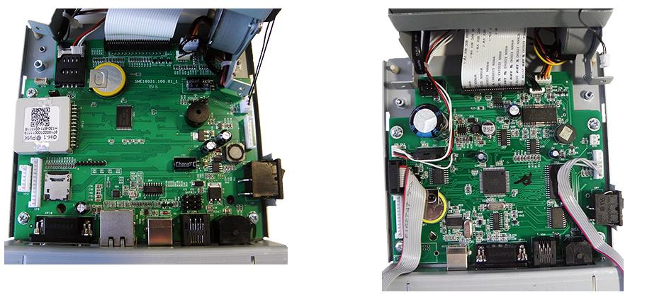 ШТРИХ-М-01Ф, платы внутри устройства