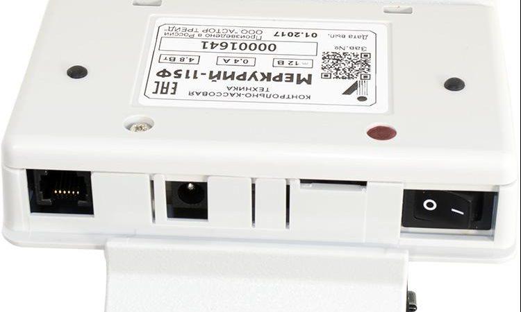 Подключение устройств Меркурий-115Ф