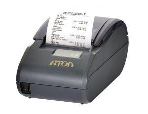 Процесс печати чека Атол 30 Ф+