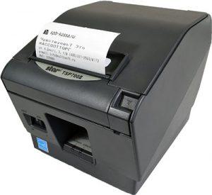 Печать чека ПТК «MSTAR-TK»