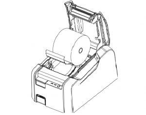 Процесс замены ленты в РР-03Ф