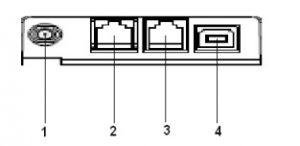 РР-04Ф основные разъёмы