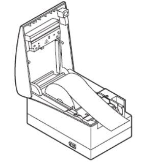 Установка чековой ленты ШТРИХ-МИНИ-02Ф