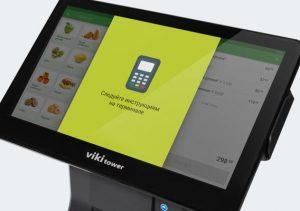 Инструкция на экране Viki Tower