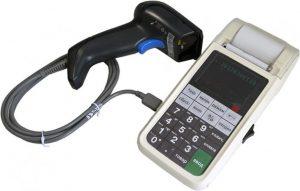 Пионер-114Ф, сканер штрих-кодов